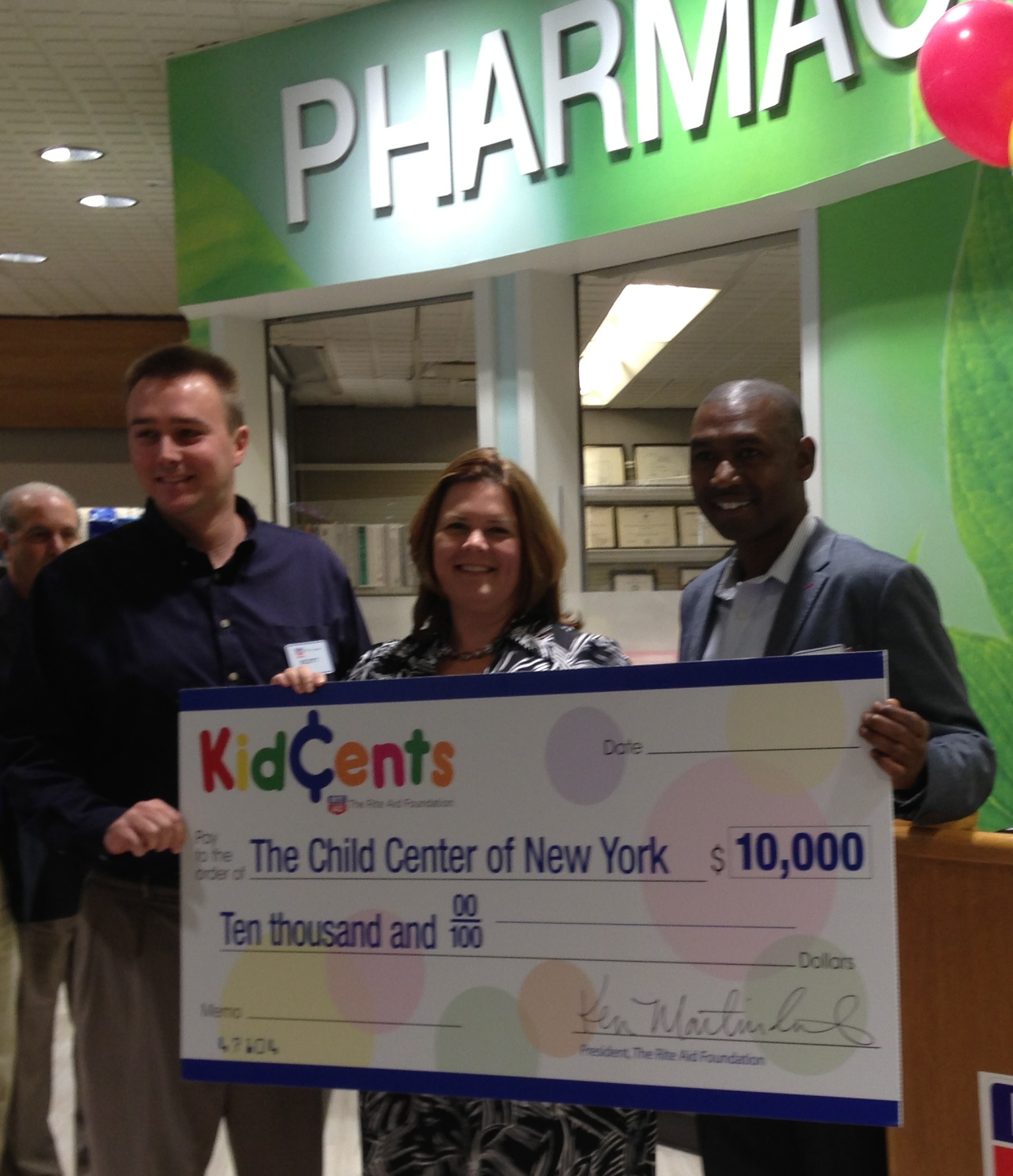 Support The Child Center with KidsCents