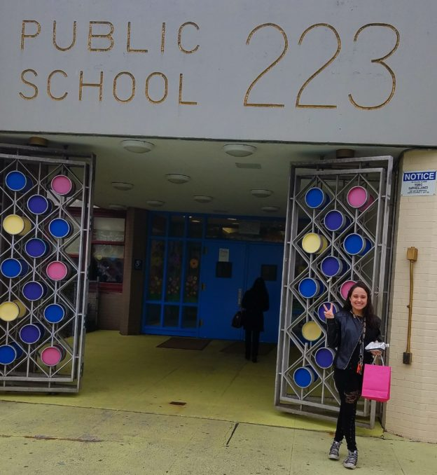 "Brianna ""Bree"" McDonough at The Child Center of NY, P.S. 223"