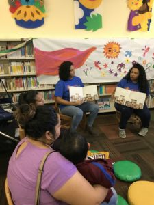 Read for the Record at Queens Library, sponsored by Parent Child Home program