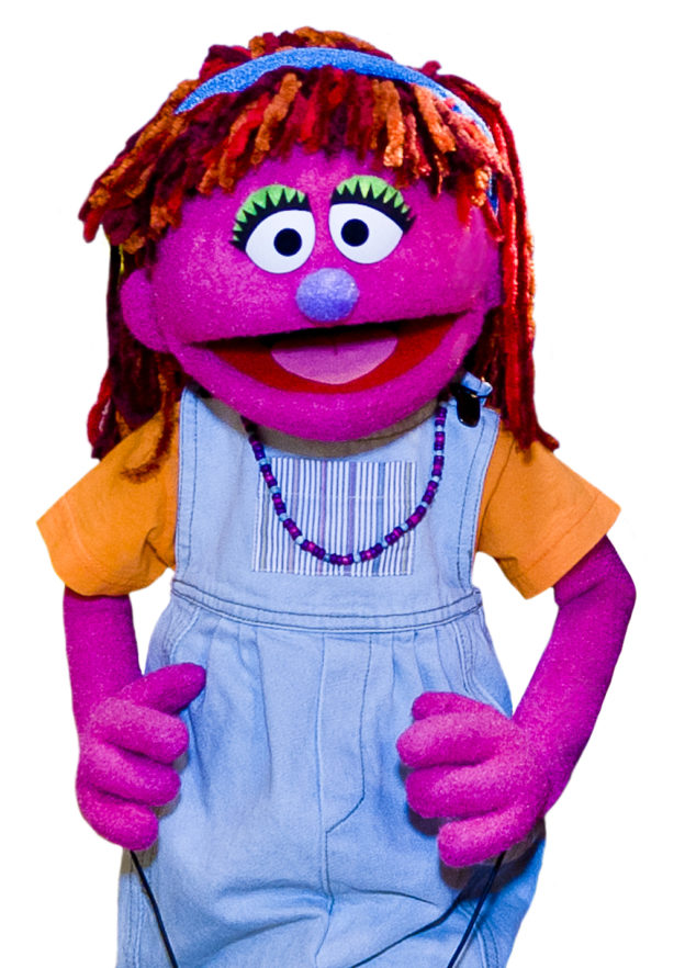 Lily, the homeless character in Sesame Street