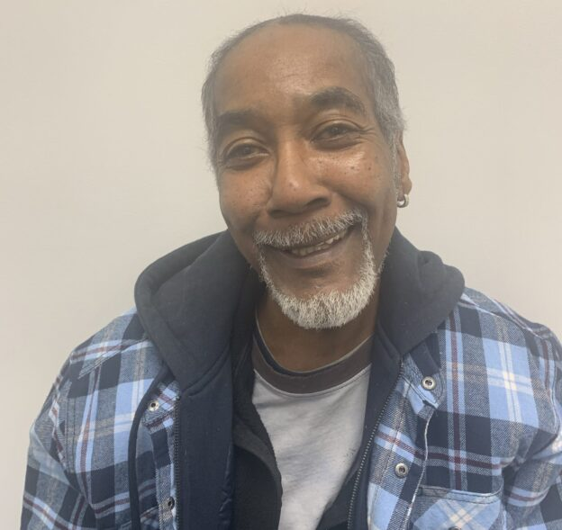 Leonard, a client of the substance abuse addiction program at the Jamaica Family Wellness center in Queens