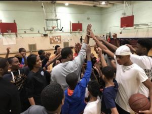Coach Jermaine Miller at Parsons Beacon