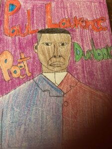 Drawing of Laurence Dunbar, PS 148